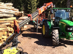 Wir haben für jeden Bestand das richtige Holzerntesystem